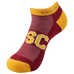 Youth USC Trojans Spirit No-Show Socks