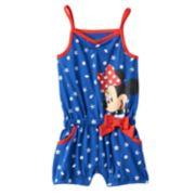 Disney's Minnie Mouse Starfish & Seashell Romper - Baby Girl