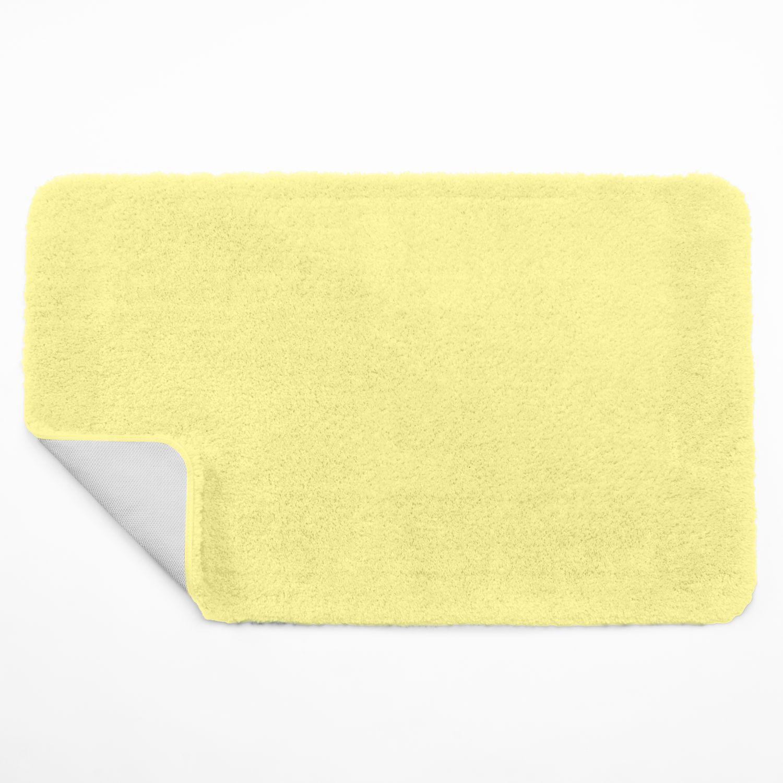 Yellow Bathroom Rug Home Decor