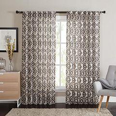 VCNY Broomo Printed Window Curtain - 54'' x 84''