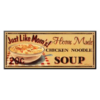 "Art.com ""Chicken Noodle Soup"" Wall Art"