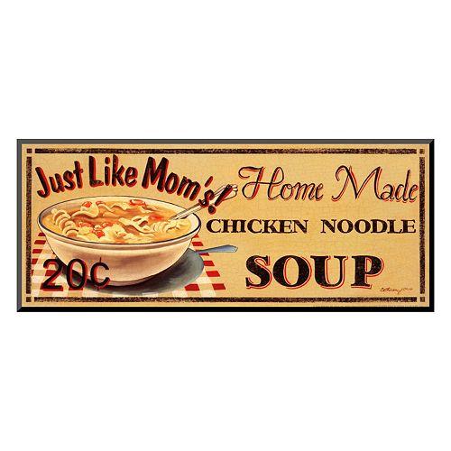 """Art.com """"Chicken Noodle Soup"""" Wall Art"""