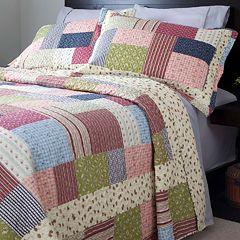 Portsmouth Home Savannah Reversible Quilt Set