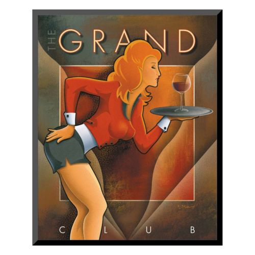 "Art.com ""The Grand Club"" Wall Art"