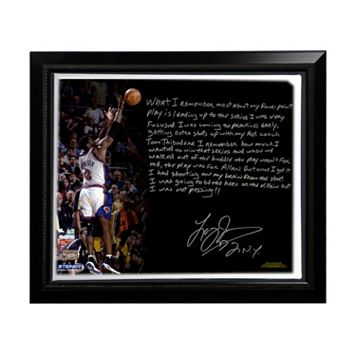 Steiner Sports New York Knicks Larry Johnson 4-Point Play Facsimile 22