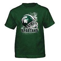 Boys 4-7 Michigan State Spartans Helmet Tee