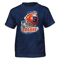 Boys 4-7 Syracuse Orange Helmet Tee