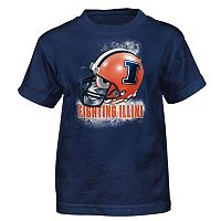 Boys 4-7 Illinois Fighting Illini Helmet Tee