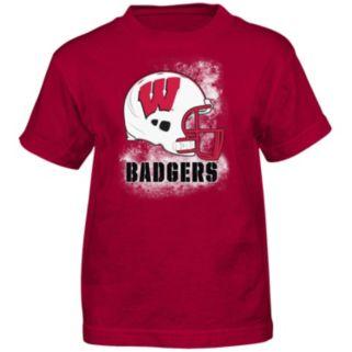 Boys 4-7 Wisconsin Badgers Helmet Tee