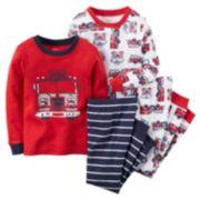 Carter's 4-Piece Fire Rescue Pajama Set - Boys 4-8