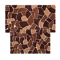 Chesapeake Boulder 2 pc Bath Rug Set