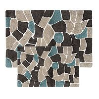 Chesapeake Boulder 2-pc. Bath Rug Set