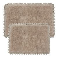 Chesapeake Crochet Reversible 2-pc. Bath Rug Set