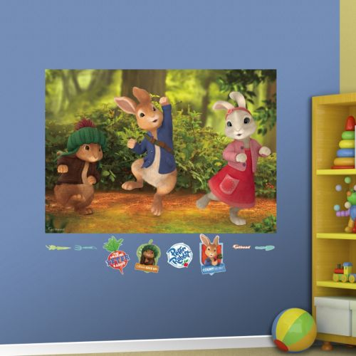 Peter Rabbit Mural Wall Decals by Fathead