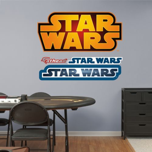Star Wars Logo Wall Graphic by Fathead