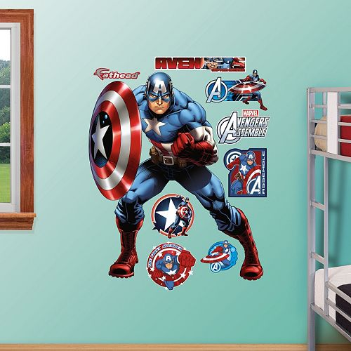 Avengers Assemble Captain America Wall Decal by Fathead