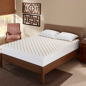 Serta 2 1 2 Inch Memory Foam Reversible Mattress Topper
