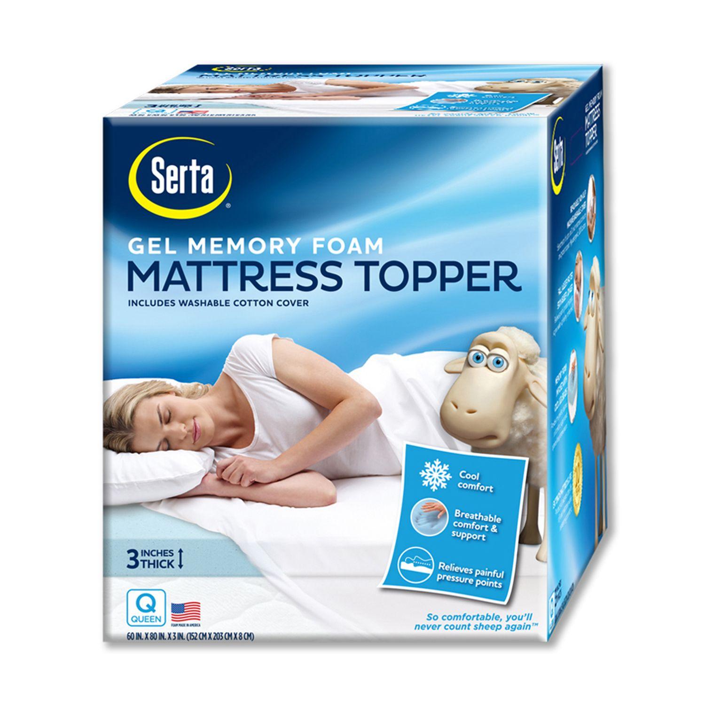 Deeppocket Gel Memory Foam Mattress Topper