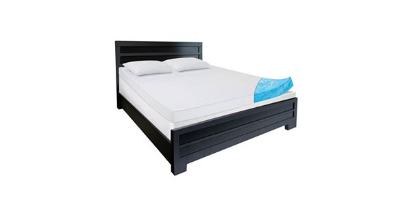 Comforpedic Beautyrest Egyptian Cotton 4 In Gel Memory