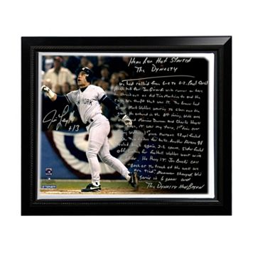 Steiner Sports New York Yankees Jim Leyritz Dynasty Home Run Facsimile 22