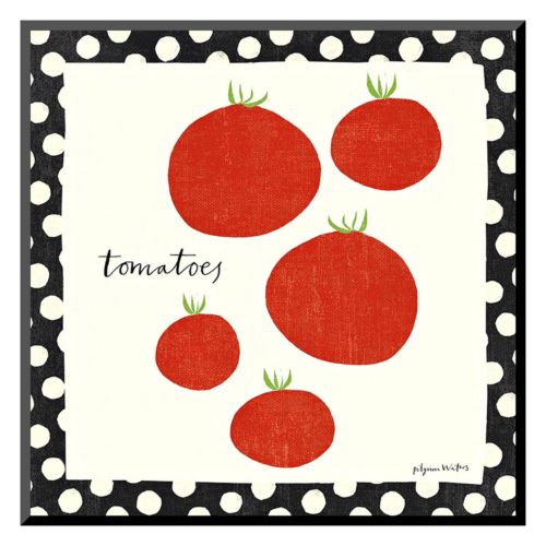"Art.com ""Simple Tomatoes"" Wall Art"