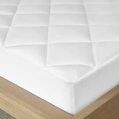 Madison Park Quiet Nights Cotton Waterproof Deep-Pocket Mattress Pad