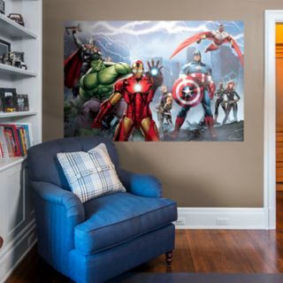 Avengers Assemble Mural Wall Decal by Fathead