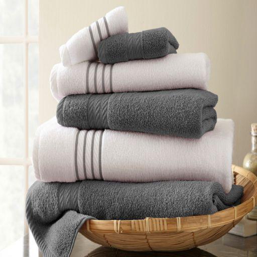 Spring Bloom 6-pc. Quick-Dry Egyptian Cotton Bath Towel Set