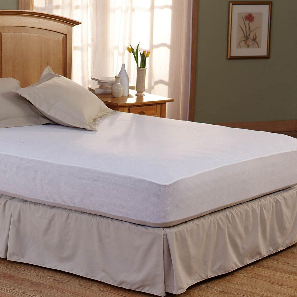 Spring Air Bed Armor Deep Pocket Mattress Protector