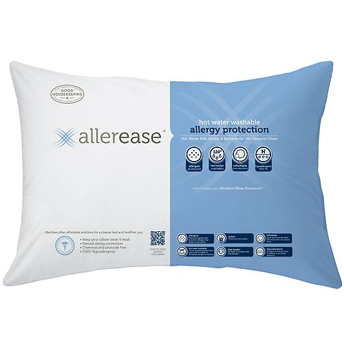 Allerease Hot Water Wash Pillow