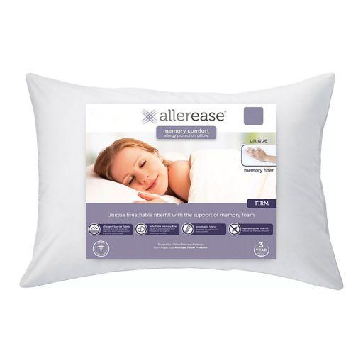 Allerease Custom Comfort Memory Fiber Pillow