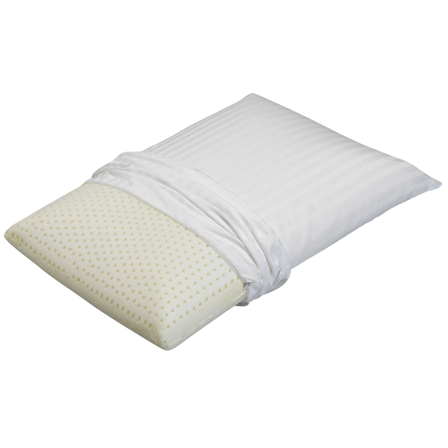 beautyrest extra firm latex foam pillow