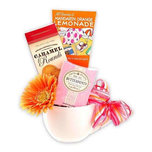 Alder Creek Tea & Cookies for Mom Mother's Day Gift Basket