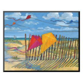 "Art.com ""Beach Kites"" Wall Art"