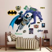 Batman & The Joker Battle Wall Decal by Fathead