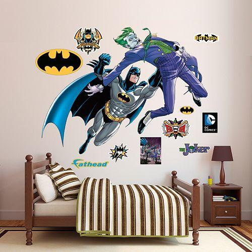Batman & The Joker Battle Wall Decal by Fathead