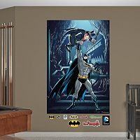Batman & Penguin Mural Wall Decal by Fathead
