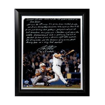 Steiner Sports New York Yankees Tino Martinez 1998 World Series Grand Slam Facsimile 22
