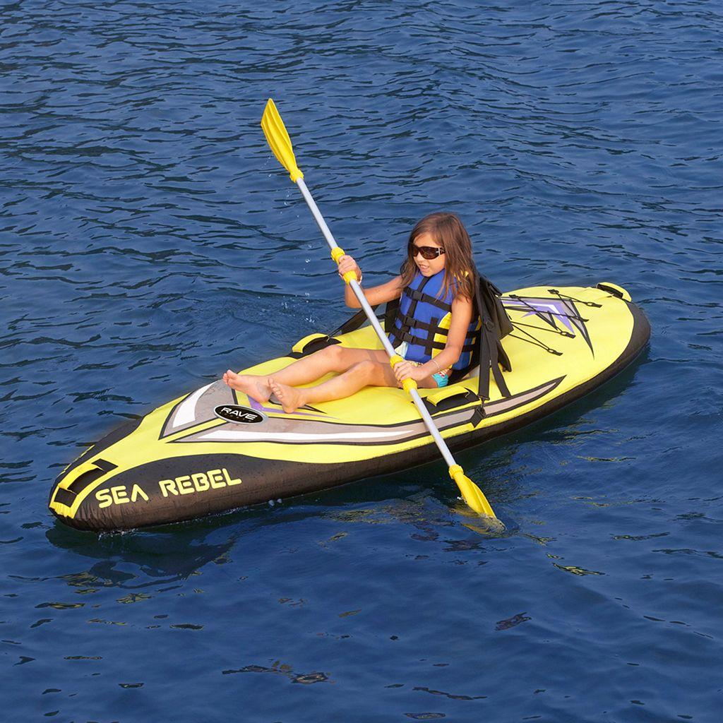 RAVE Sports Sea Rebel Inflatable 1-Person Kayak