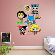 DC Comics Girl Power Collection Wall Decal by Fathead