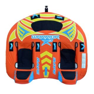RAVE Sports Warrior X3 3-Person Towable Tube