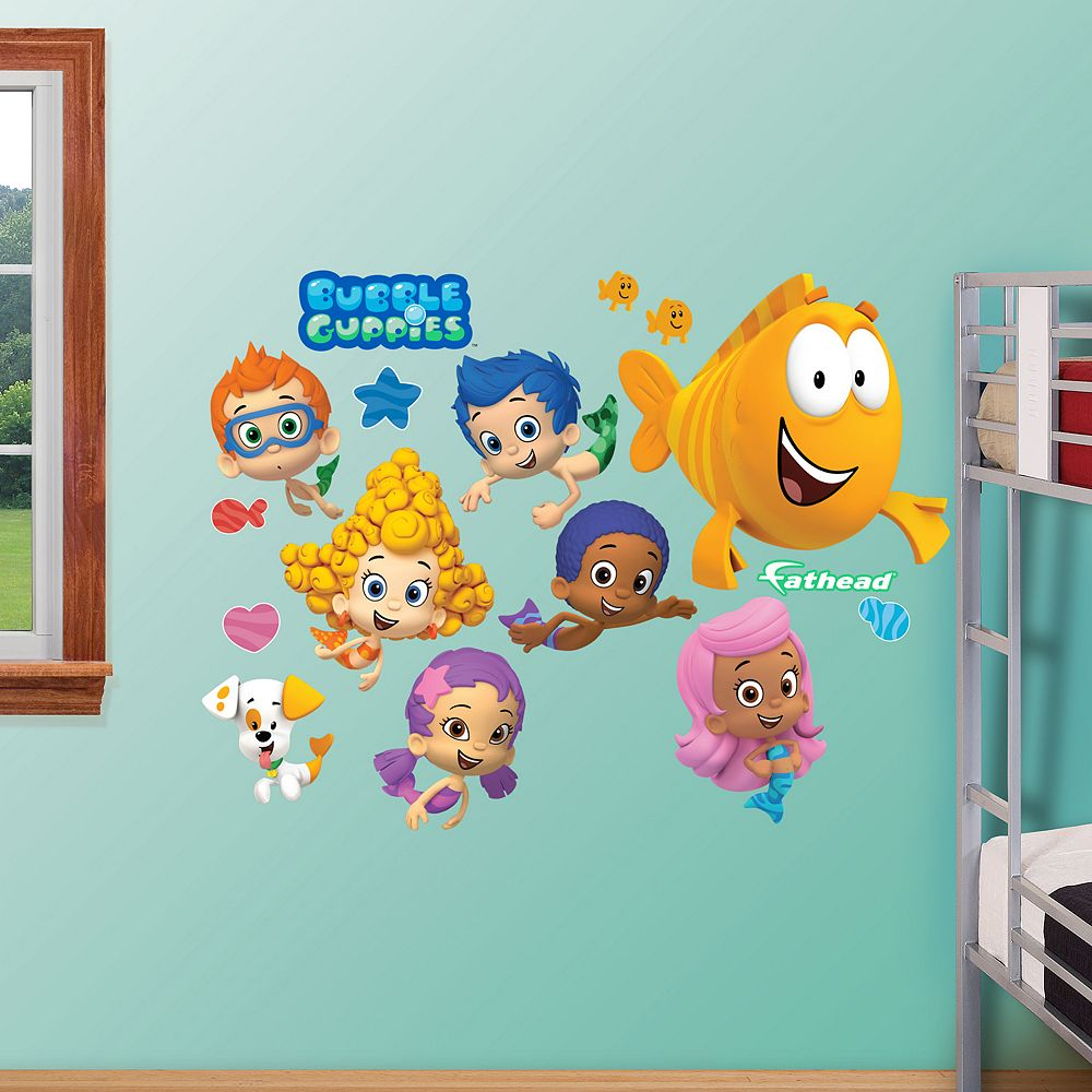 Guppies collection wall decals by fathead bubble guppies collection wall decals by fathead amipublicfo Images