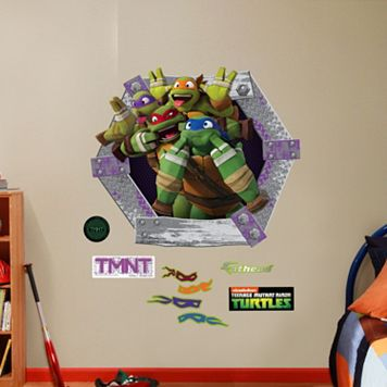 Teenage Mutant Ninja Turtles Goofy Faces Collection Wall Decals by Fathead