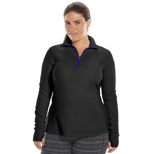 French Laundry Women Plus Size 1x 2x Black Gray Soft Fleece Jacket Sweater