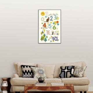 "Art.com ""123"" Wall Art"