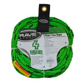 RAVE Sports 4-Rider Towable Tube Tow Rope