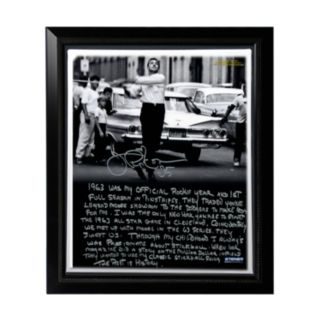"""Steiner Sports New York Yankees Joe Pepitone Stickball Facsimile 22"""" x 26"""" Framed Stretched Story Canvas"""