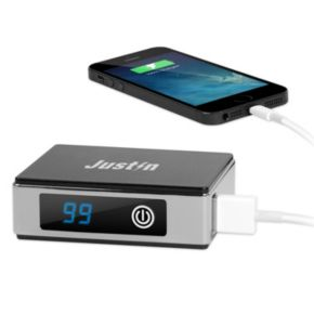 Innovative Technology Justin 5200mAh Portable Power Bank with LCD Display