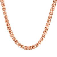 14k Gold Byzantine Chain Necklace
