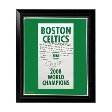 Steiner Sports Boston Celtics Paul Pierce 2008 Champions Banner Facsimile 22